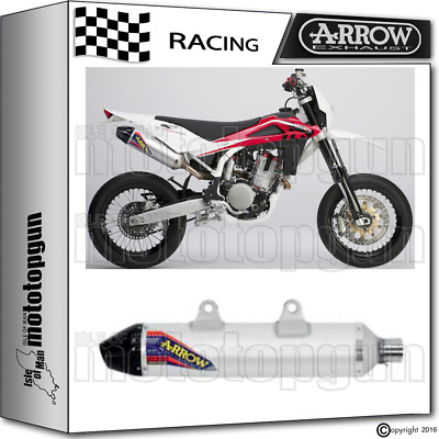 Arrow Exhaust Thunder Off-Road V2 Carby Cup Race Husqvarna Sm 510 2005 05