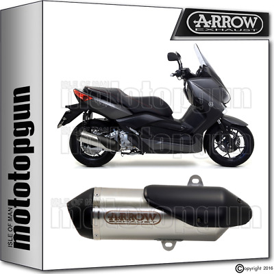 Arrow Silencer Urban Nichrom Hom Yamaha Xmax 250 2009 09 2010 10 2011 11 2012 12