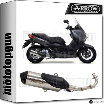 Arrow Full Silencer Urban Nichrom Kat Yamaha Xmax 250 2009 09 2010 10 2011 11