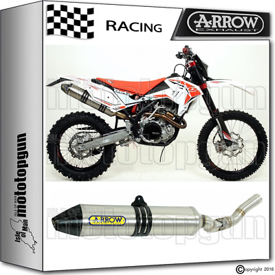 Arrow Exhaust Thunder Off-Road Titanium Carby Cup Race Beta Rr 520 2013 13