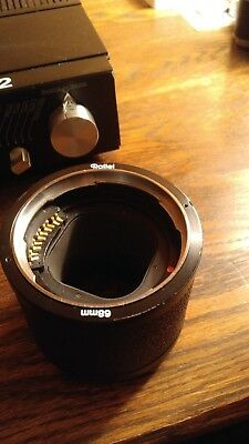 Rollei Extension tube 68mm for 6008 system lenses PQ S Hy6 Rolleiflex