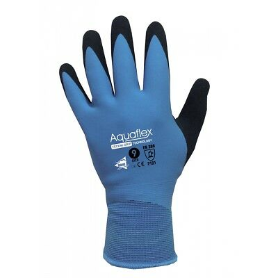 Manusweet Captain Aquaflex Gants de travail Imperméable Enduction Latex