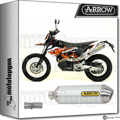 Arrow Kit Muffler Race-Tech Aluminium Kat Ktm 690 Enduro 2009 09 2010 10 2011 11
