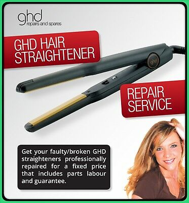 GHD REPAIR SERVICE Repairs For your faulty broken ghd hair straightener irons
