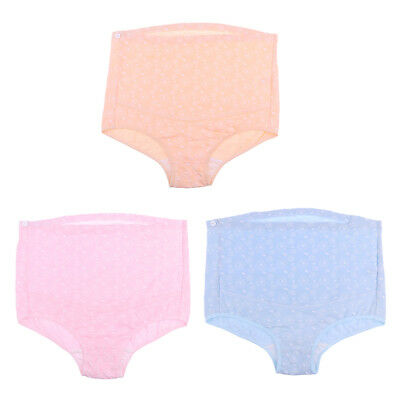 Pregnancy Maternity Underwear Comfy Brief Panties Cotton High-Waist Underwear
