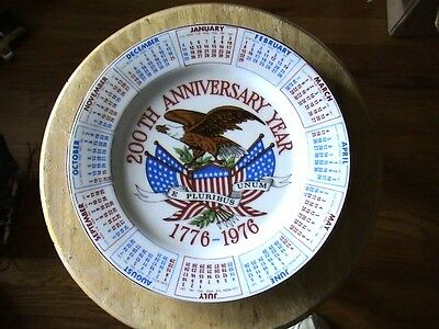 "Spencer Gifts, Inc. 200Th Anniversity Year Commerative Collector 9"" Plate"