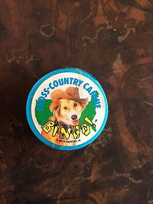 """BINGO,CROSS-COUNTRY CANINE"" The Movie RARE Topps Candy Container"