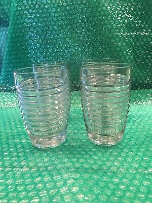 "1 Anchor Hocking Park Avenue - Manhattan Crystal Iced Tea Tumbler 5-7/8"" Tall"