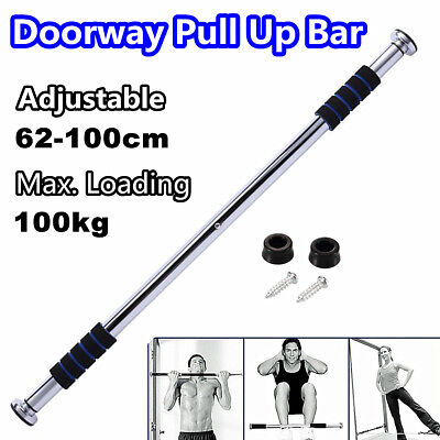 Doorway Chin Up Bar Portable Home Gym Push Pull Up Exerceise Workout Fitness ABS