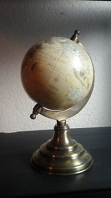 Terrestrial Globe, country to country miles,  10 inch approx