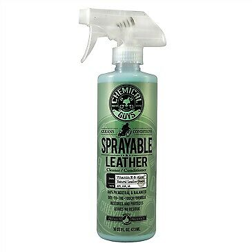 Chemical Guys Sprayable Leather Cleaner and Conditioner 16OZ