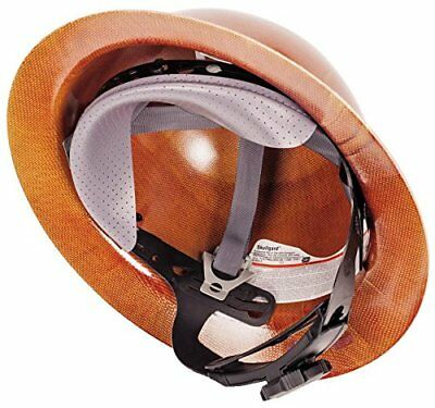 MSA 475407 Natural Tan Skullgard Hard Hat with Fas-Trac Suspension New