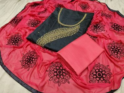 Indian Designer Bollywood Fashion Dress Top Boho Hippi Pure Cotton Handcrafted