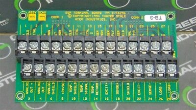 USED Hyer Industries B-54296 Thayer Scale SSP Terminal Board