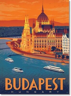 "Vintage BUDAPEST HUNGARY Photo Fridge Magnet New 2""x3"""