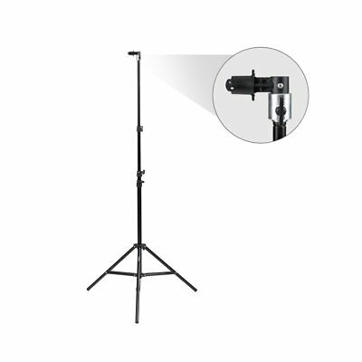 Fovitec StudioPRO -   1 x 2.3m Pop Out Muslin Backdrop & Reflector Clip Stand