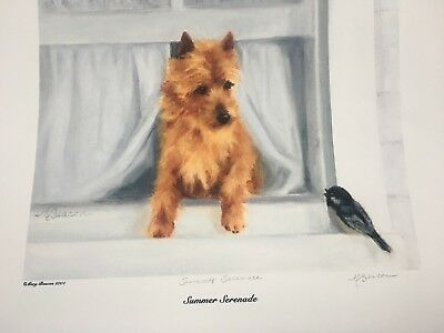 Australian Terrier print By Mary Beacon
