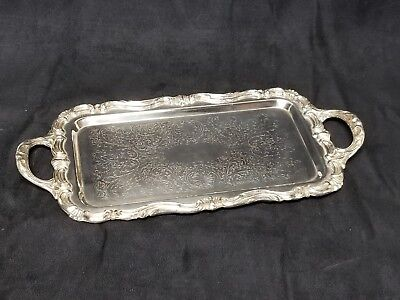 FB Rogers Silver Co Tea Plate 6083