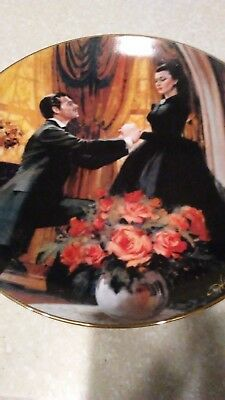 Gone with the Wind: Golden Anniversary Series Collectors Plates 1988 W.J George