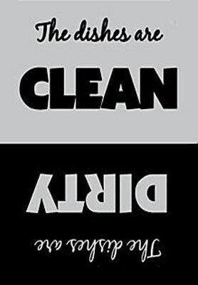 The Dishes are Clean Dirty Photo Fridge Magnet New
