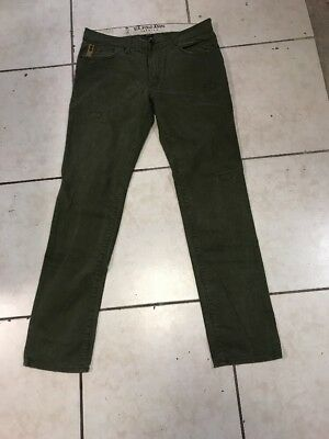 85777b22 U.S.POLO ASSN. JEANS Mens Size 34x34 -100% Cotton/Olive Green ...