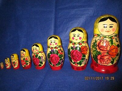 Matroschka Babuschka (8 in einer) Made in USSR
