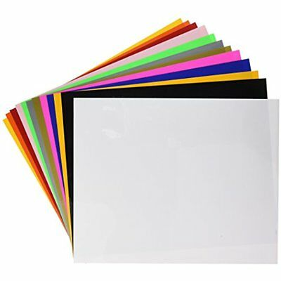 "SISER EasyWeed Heat Transfer Vinyl, 12 X 15"" 12-Color Starter BUNDLE"