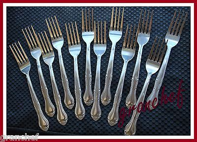 Dinner Fork ~ 12 pieces ~ Packed for Food Service Trade~ Elegance Pattern ~ NIB