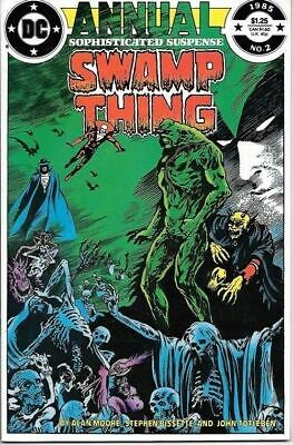 Swamp Thing Comic Book Annual #2 Justice League Dark DC 1985 VERY FINE UNREAD