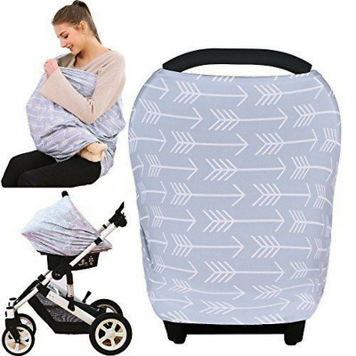 Baby Car Seat Cover  Canopy Nursing  Breastfeeding Infant Car Seat Cover