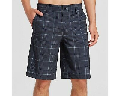 14d0ee1ed8 MOSSIMO SUPPLY CO. Men's Plaid Board Shorts - Black with Gray - Pick ...