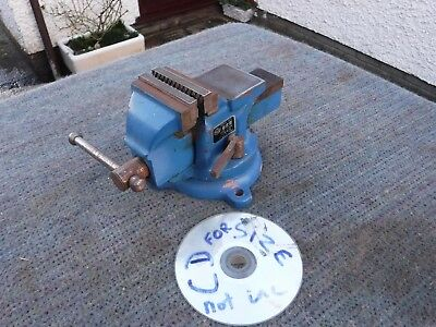 Rotating Engineers   Bench  Vice.   Free  Delivery.