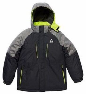 Gerry Boys 3 in 1 System Jacket, Hooded w/Inner Jacket & Knit Hat Size S (7/8)