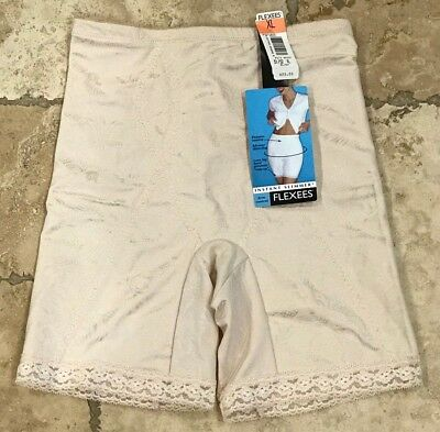 Vintage Flexees Long Leg Panty Girdle Size XL Blush •New With Tags - Style #6855