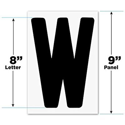 Changeable Outdoor Sign Letters 8 Portable Flex 300 Count Helvetica Font Panel