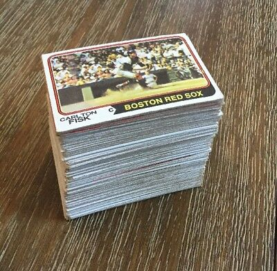 1974 Topps Baseball Card Lot Of 161 Different Vintage HOF Rookie Set Starter
