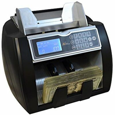 Money Counting Machine, High Speed Bill Counter, UV, MG, IR Counterfeit Front