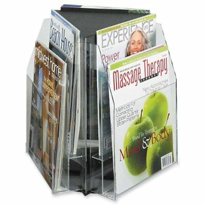 5698CL Reveal Table Top Literature Display, Magazine, Clear