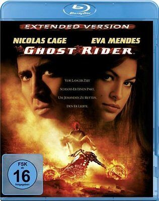 GHOST RIDER, Extended Version (Nicolas Cage) Blu-ray Disc NEU+OVP