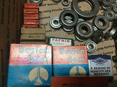 Boston Gear & Other Brands Of Ball Bearings -  Lot Of 50+ - All Sizes Nos
