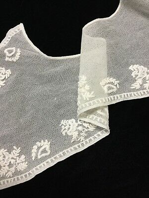 Antique Victorian Lace Ladies Collar, 19th Century Vintage No Stains or Rips