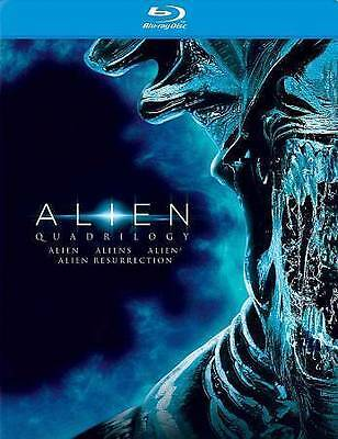 Alien Quadrilogy (Blu-ray Disc, 2014) Ships in 24 hours!