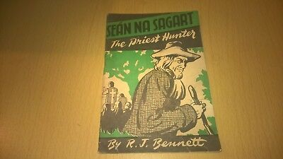 SEAN NA SAGART The Priest Hunter - VINTAGE IRISH BOOKLET IRELAND 1945