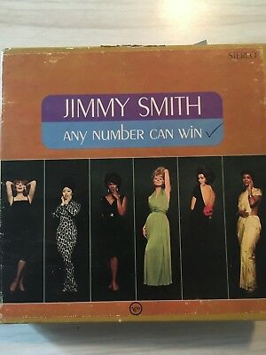 Jimmy Smith Any Number Can Win Reel To Reel Tape 7 1/2 Ips Tested