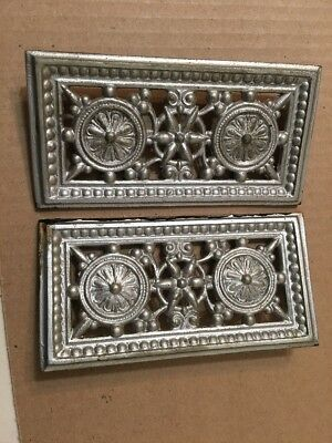Antique Cast Metal Decorations From Ansonia Mantle Clock