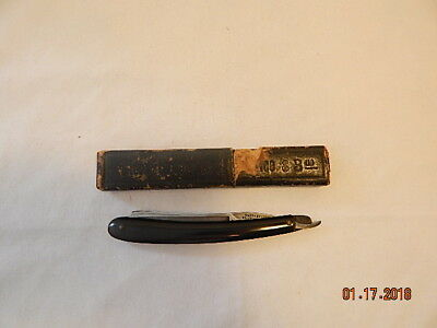 Antique/Vintage Wade and Butcher Sheffield England Straight Razor