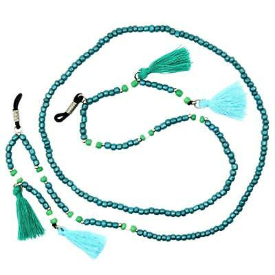 Bead Glass Chain Beaded Eyeglasses Neck Cord Lanyard Holder Rope Spectacles