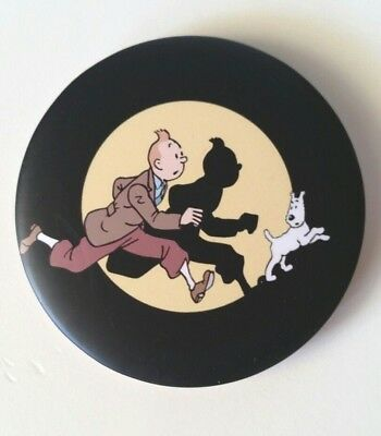 Tintin Snowy Badge Pin Herge Comic Animation Collectable