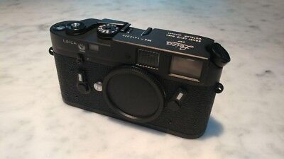 Leica M4 50 Jahre (Year) New in Box; absolutely mint condition, never used!