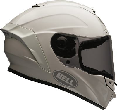 Bell Star Blanco Brillante Casco de MOTO - XL AHORRO
